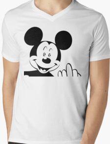 MoneyWorld Mens V-Neck T-Shirt