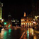 Edinburghs West End at Night by Dorothy Thomson