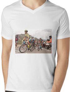 Alberto Contador Mens V-Neck T-Shirt