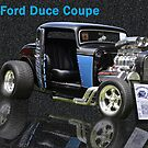 1932 Ford Duce Coupe by DiamondCactus