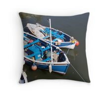 Moored Throw Pillow