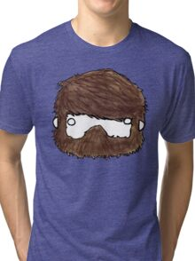 My Face, Your Chest Tri-blend T-Shirt