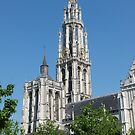 Cathedral of Our Lady, Antwerp by Trish Meyer