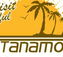 Come Visit Beautiful Guantanamo Bay Cuba Sticker