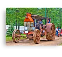 Steam Project Canvas Print
