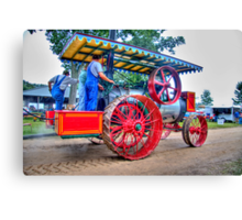 Steam Project 2 Canvas Print