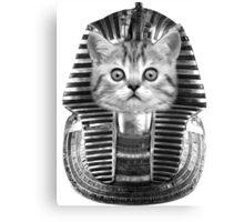 Pharaoh Kitteh Canvas Print