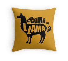 Como Se Llama  Funny Humor Hoodie / T-Shirt Throw Pillow