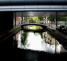 Bridges on canal by Bluesrose
