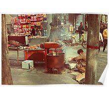 Street Food in Beijing Poster