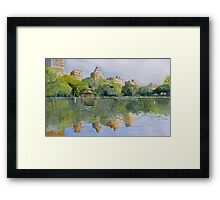 New York.. where dreams are made of...... Framed Print