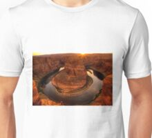 Late Afternoon At Horsehoe Bend - 1 ©  Unisex T-Shirt