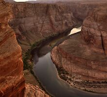 Late Afternoon At Horsehoe Bend - 2 ©  by © Hany G. Jadaa © Prince John Photography