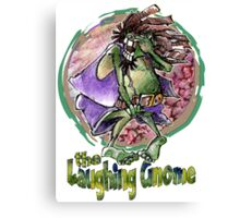 The Laughing Gnome Canvas Print