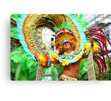 Notting hill carnaval Canvas Print