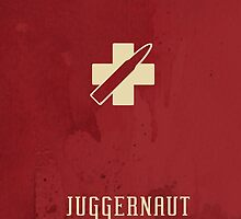 Juggernaut retro mobile cover  by ExtremeGamer
