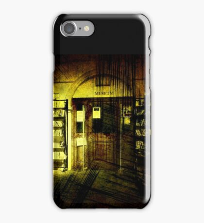Late Night at the Library iPhone Case/Skin