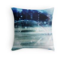 laser guided melodies Throw Pillow