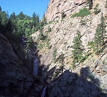 Seven Falls-Colorado Springs, Colorado by David  Hughes