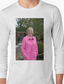 Carol Kirkwood BBC Weather presenter Long Sleeve T-Shirt