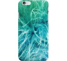 Blue and Green Feather Boa iPhone Case/Skin