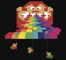 8 Bit Nintendo Rainbow Kids Clothes