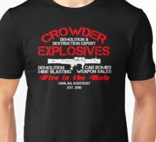 Crowder Explosives Justified Funny Humor Hoodie / T-Shirt Unisex T-Shirt