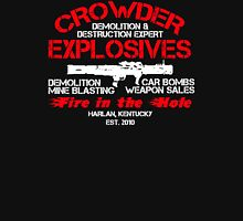 Crowder Explosives Justified Funny Humor Hoodie / T-Shirt Unisex T-Shirt