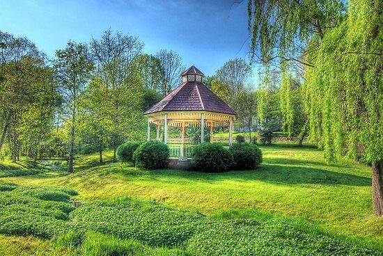 Mill Springs Park Gazebo by C David Cook