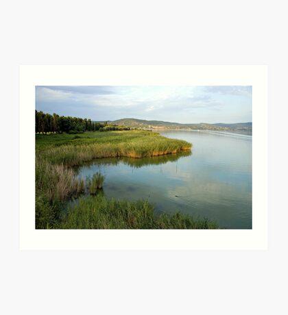 Lake Trasimeno Art Print