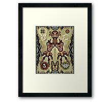 Money Folk Framed Print