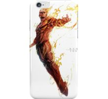 Fantastic Four  Johnny Storm The Human Torch  iPhone Case/Skin