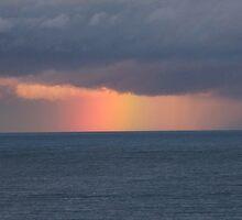 Rainbow at Sea by TREVOR34