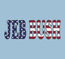 Jeb Bush - President Election Republican Sticker Decal Support Kids Tee