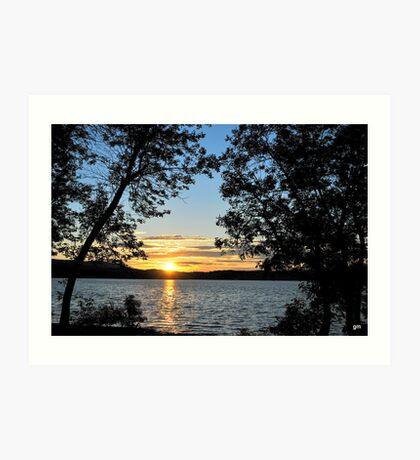 """"""" Saint John River sunset """"  Art Print"""
