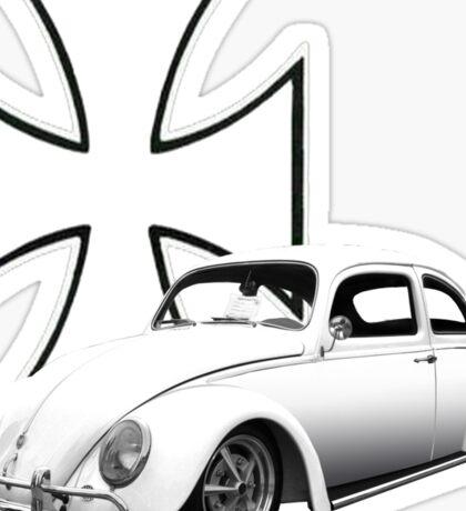 Iron Cross VW Bug Sticker