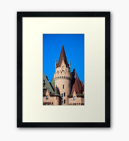 Chateau Laurier - Ottawa, Canada Framed Print