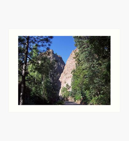 Seven Falls-Colorado Springs, Colorado Art Print