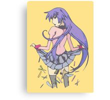 Bakemonogatari cover art work Canvas Print