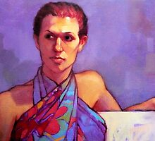 Portrait of Belinda by Roz McQuillan