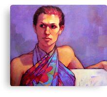 Portrait of Belinda Canvas Print