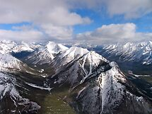 Rockie Mountains, Mount Athabasca by Ali Brown