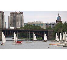 Charles Sail Boats Photographic Print