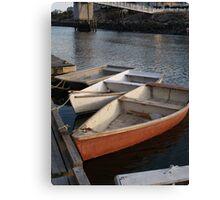 Ogunquit, ME Row Boats Canvas Print