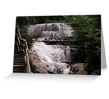 Sable Falls in Grand Marais Greeting Card