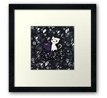 Sailormoon Luna and Artemis Framed Print