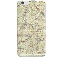 Massachusetts  USGS Historical Topo Map MA Franklin 352680 1919 62500 iPhone Case/Skin
