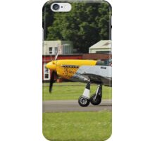 Mustang P51-D fighter iPhone Case/Skin