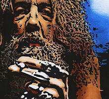 Alan Moore by Samantha Norbury