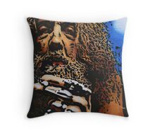 Alan Moore Throw Pillow